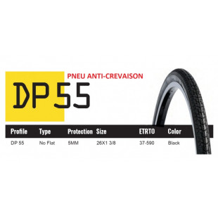 DUTCH PERFECT PNEU 650X35A SRI 55 - ANTICREVAISON 5MM