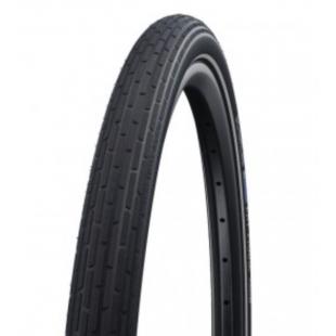 """pneu Schwalbe Fat Frank HS 375 TR 26x2.35"""" 60-559 noir Reflex"""