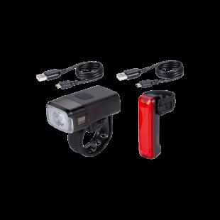 BBB Eclairage Kit avant et arrière NanoStrike 600 + BLS-137