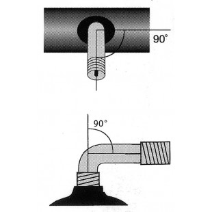 Schwalbe/Impac Chambre à air pour charrette/rééducation avec valve auto