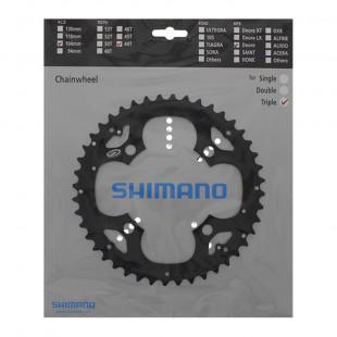 SHIMANO Plateau 44D Deore FC-M530 Noir