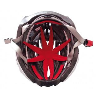 MARIPOSA OctoPlus rouge kit rembourrage casque avec fixation scratch