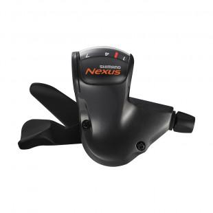 Shimano Manette Rapidfire Plus Nexus 7 SL-7S50 Noir Avec CJNX10